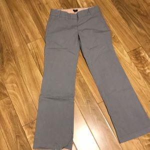 J. Crew stretch city fit cotton pants size 4